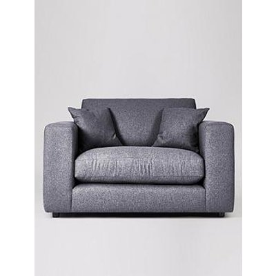 Swoon Althaea Original Fabric Love Seat - Smart Wool