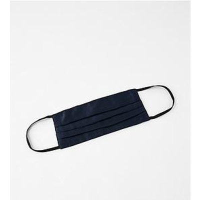 Accessorize Pure Silk Face Cover - Navy