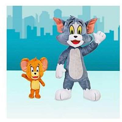 "Tom & Jerry S2 Plush Bundle - 12"" Tom & 5"" Jerry Set"