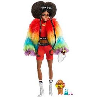 Barbie Extra Doll - Rainbow Coat