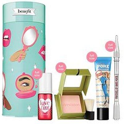 Benefit Destination Celebration Blush, Brow Pencil, Face Primer &Amp; Lip/Cheek Tint Gift Set
