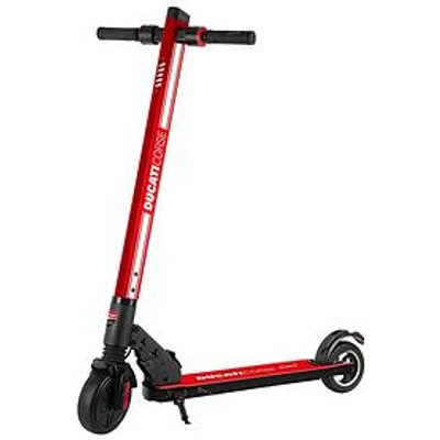 Ducati Corse Air 24 Volt Lithium Ion Electric Scooter - Red