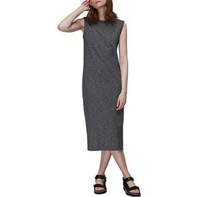 Whistles Easy Minimal Stripe Dress