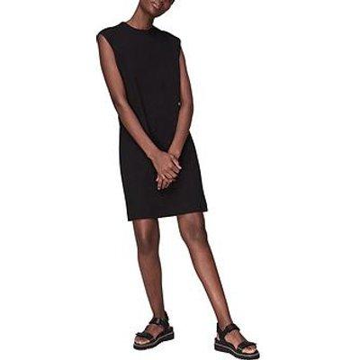 Whistles Easy Minimal Dress - Black