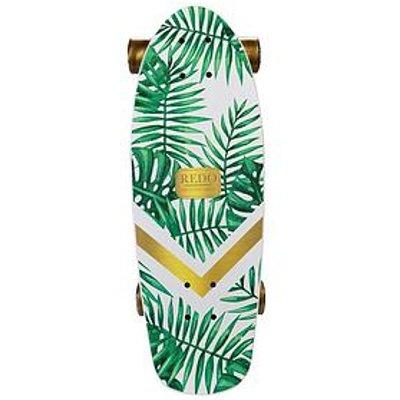 Redo Skateboard Co. Shorty Green Palm Cruiser Skateboard
