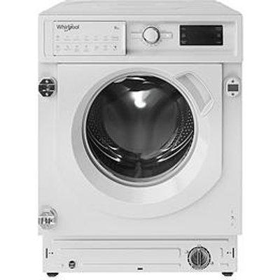 Whirlpool Biwmwg91484 Built-In 9Kg Load, 1400 Spin Washing Machine - White - Washing Machine With Installation