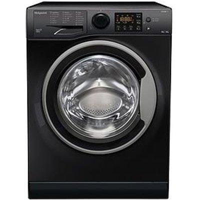 Hotpoint Rdg9643Ksukn 9Kg Wash, 6Kg Dry, 1400 Spin Washer Dryer - Black