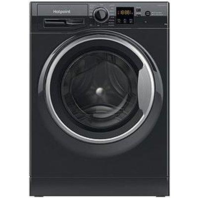 Hotpoint Nswm863Cbsn 8Kg Load, 1600 Spin Washing Machine - Black