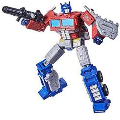 Transformers Transformers Toys Generations War For Cybertron: Kingdom Leader Wfc-K11 Optimus Prime Action Figure - Kids Ages 8 And Up, 7-Inch