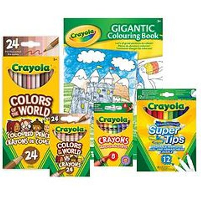 Crayola Colour Of The World Super Bundle