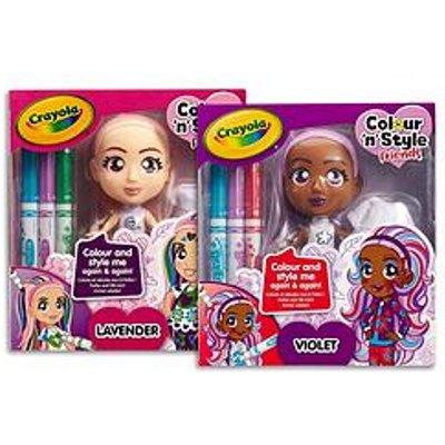 Crayola Crayola Colour N Style Friends - Violet/Lavender 2 Pack