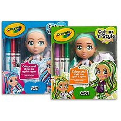 Crayola Crayola Colour N Style Friends - Skye/Jade 2 Pack