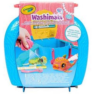 Crayola Crayola Washimals Ocean Pets Seashell Splash Playset