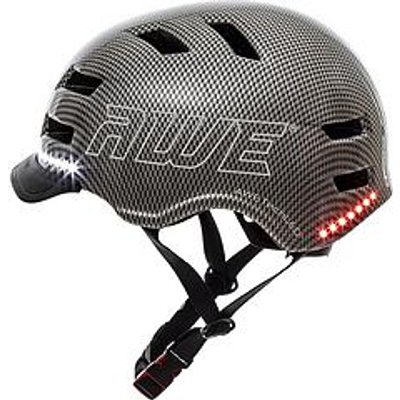 Awe Ebike / Scooter / Bike Helmet Adult 58-60Cm - Graphite Grey