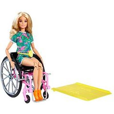 Barbie Doll With Wheelchair And Ramp