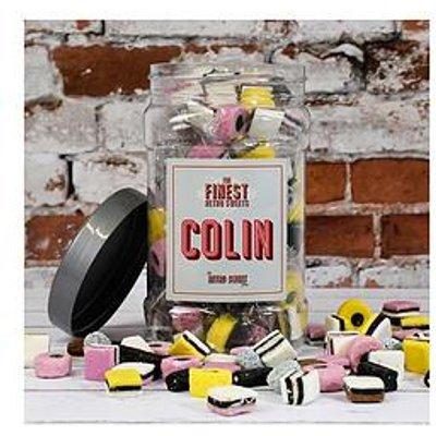 Pic N Mix Jar - Liquorice Allsorts