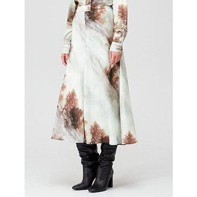 Coster Copenhagen Forest Print Skirt - Mint