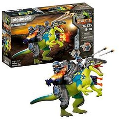 Playmobil 70625 Dino Rise Spinosaurus: Double Defense Power