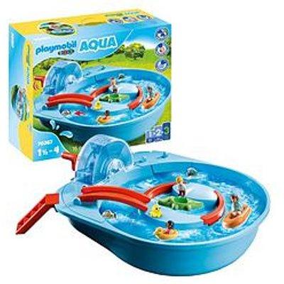 Playmobil 1.2.3 Aqua 70267 Splish Splash Water Park For 18+ Months