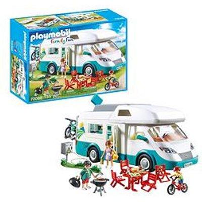 Playmobil Playmobil 70088 Family Fun Camper Van With Furniture