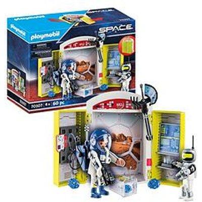 Playmobil 70307 Space Station Play Box