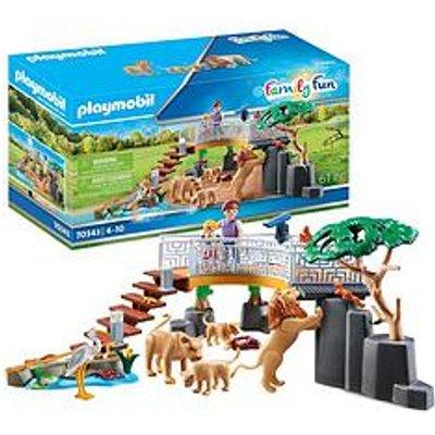 Playmobil Playmobil 70343 Family Fun Outdoor Lion Enclosure