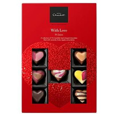 Hotel Chocolat Valentines Hbox