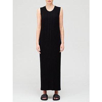 Joseph Textured Rib Dress - Black