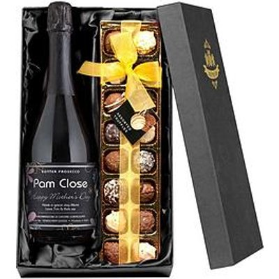 Signature Gifts Personalised Mother'S Day Prosecco With Chocolates Gift Set