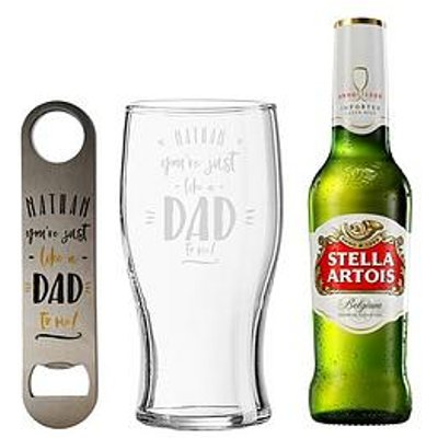 Signature Gifts Just Like A Dad To Me Lager Gift Set