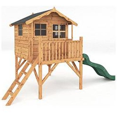 Mercia Poppy Playhouse With Tower & Slide