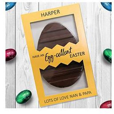 Signature Gifts Letterbox Personalised Easter Egg - Egg-Cellent Easter