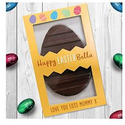 Signature Gifts Letterbox Personalised Easter Egg - Happy Easter