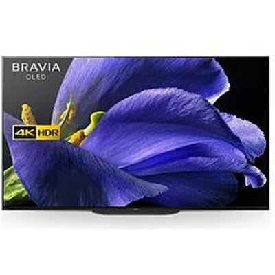 Sony Bravia Kd55Ag9 55-Inch Oled 4K Hdr Uhd Smart Android Tv With Voice Remote