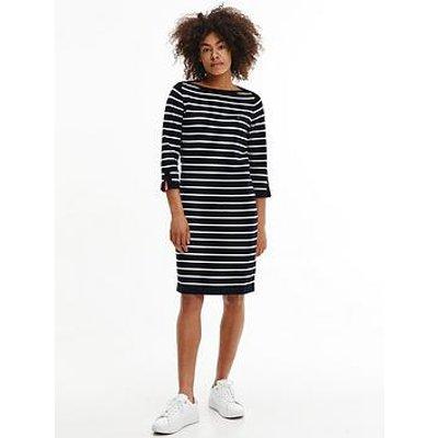 Tommy Hilfiger Tommy Hilfiger Boat Neck Knee Length Dress