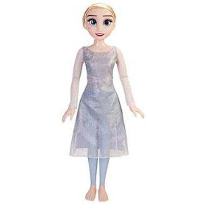 "Disney Frozen 2 32"" Ice Powers Elsa Playdate Feature Doll"