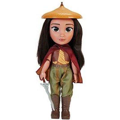 "Disney Disney Raya Warrior Doll With 11 Points Of Articulation - 14"" Tall"