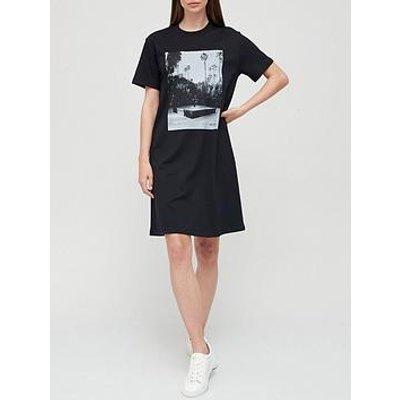 Boss Enchy Photo Jersey Dress - Black