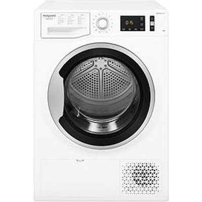 Hotpoint Activecare Ntm1192Sk 9Kg Load Tumble Dryer - White