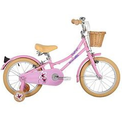 Sonic Emelle Girls Heritage Bike 16 Inch Wheel