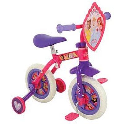Disney Princess 2-In-1 10-Inch Training Bike