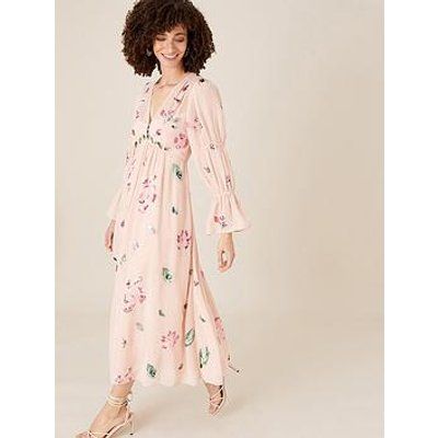 Monsoon Hayley Button Through Tea Dress