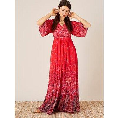 Monsoon Monsoon Jasmine Sustainable Printed Maxi Dress