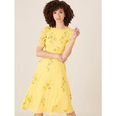 Monsoon Monsoon Lilah Sustainable Embellished Midi Dress