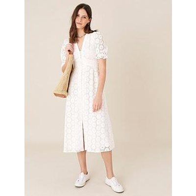 Monsoon Mia Broderie Tea Dress