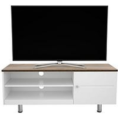 Avf Whitesands Brooke 1200 Flat Tv Stand - White - Fits Up To 60 Inch Tv