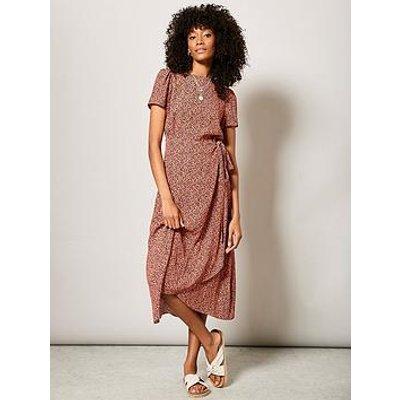 Mint Velvet Ella Animal Print Midi Dress