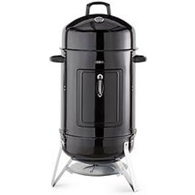 Tower Vertical 2 In 1 Luxury Bbq Charcoal And Smoker Grill