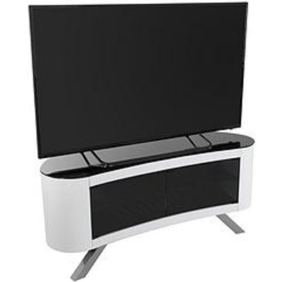 Avf Bay Affinity 1150 Tv Stand - White - Fits Up To 55 Inch