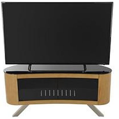Avf Bay Affinity 1150 Tv Stand - Oak/Black - Fits Up To 55 Inch